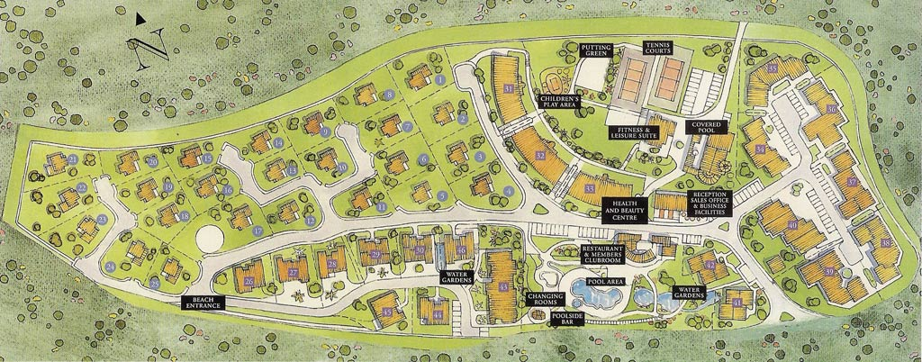 Properties For Sale At Alto Golf And Country Club Algarve Portugal - Portugal map alvor