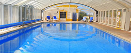 Intdoor Swimming Pool in Alto Golf & Country Club, Algarve, Portugal