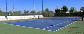 Tennis Courts in Alto Golf & Country Club, Algarve, Portugal